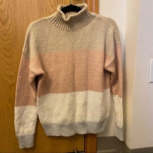 GAP thick turtleneck sweater